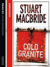 Cold Granite (MP3): Logan McRae Series, Book 1